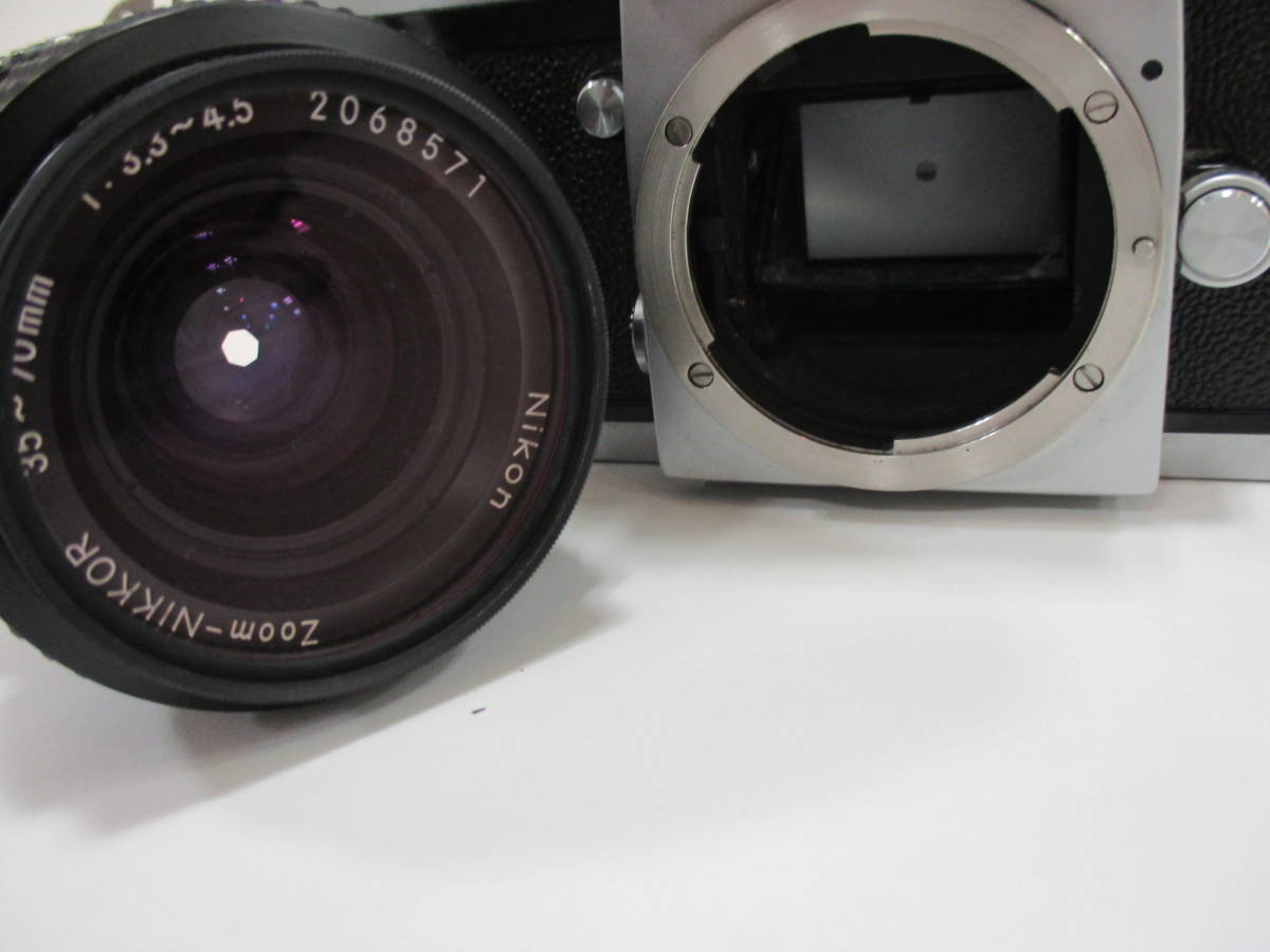 【7653】NIKON F ボディ ZOOM NIKKOR 35mm-70mm 1:3.3-4:5_画像5