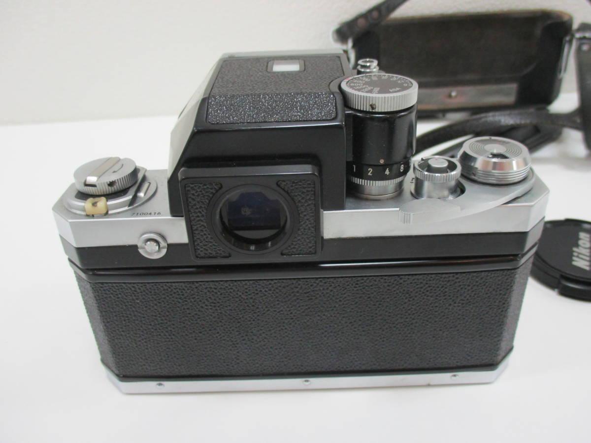 【7653】NIKON F ボディ ZOOM NIKKOR 35mm-70mm 1:3.3-4:5_画像3