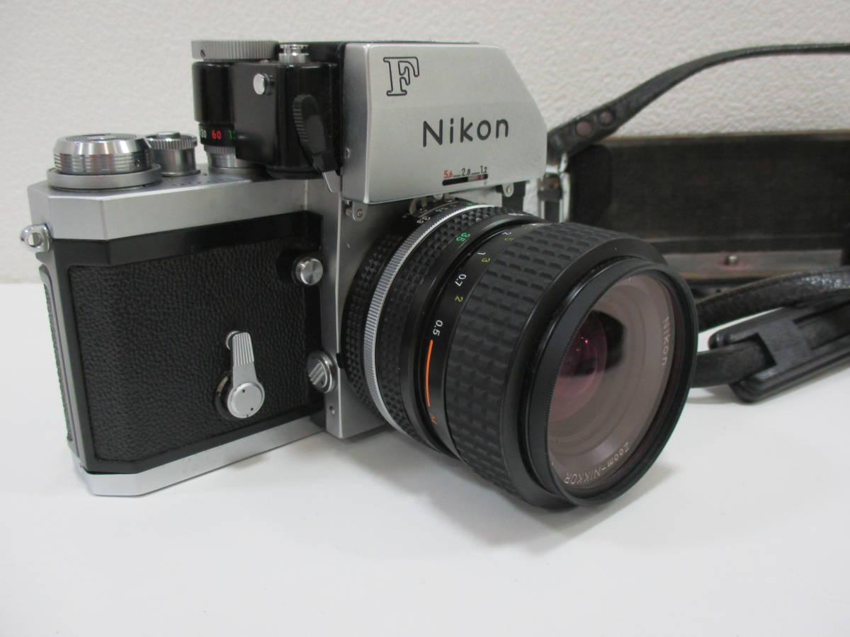 【7653】NIKON F ボディ ZOOM NIKKOR 35mm-70mm 1:3.3-4:5_画像2