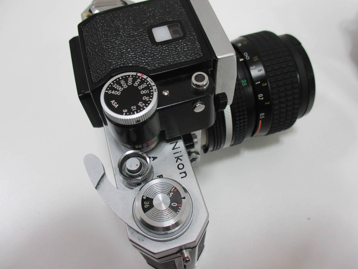 【7653】NIKON F ボディ ZOOM NIKKOR 35mm-70mm 1:3.3-4:5_画像10