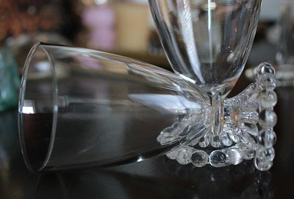 美品! ファイヤーキング バブル ブーピー ゴブレット 大サイズ2個セット グラス ワイン_画像2
