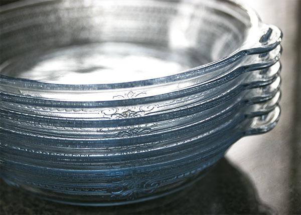 美品! ファイヤーキング サファイヤブルー フィルビー 浅いボウル プレート スープボウル 菓子器 アメリカ製 1941年~1956年製_画像8