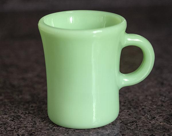 ミント! ファイヤーキング マグ ジェダイ チョコレートスリム 1940年代 耐熱 コーヒー オリジナル ミルクグラス