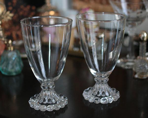 美品! ファイヤーキング バブル ブーピー ゴブレット 大サイズ2個セット グラス ワイン_画像1