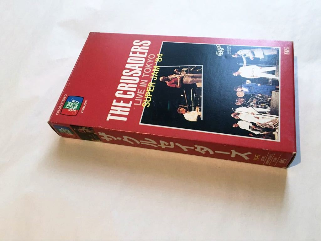 The Crusaders Live in Tokyo Super Jam '84kruse Ida -zVHS records out of production