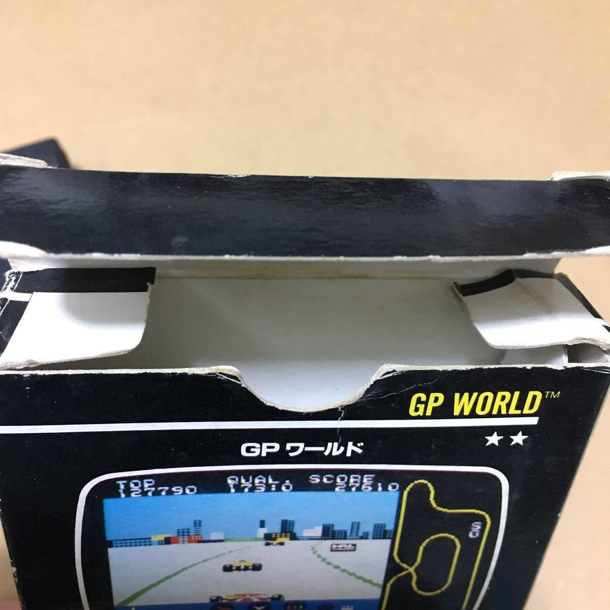 【セガ】GPワールド (箱説付)SC-3000・SG-1000シリーズ (動作未確認)_画像5