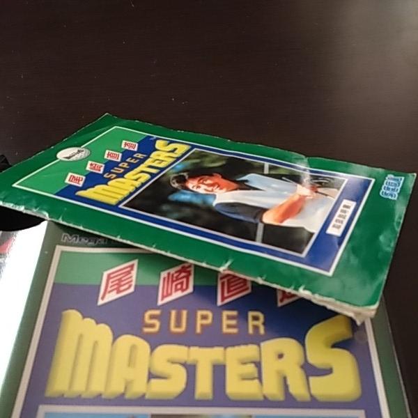 即決価格 送料無料 尾崎直道のスーパーマスターズ メガドライブ ソフト 中古 SEGA MD  箱あり 説明書あり