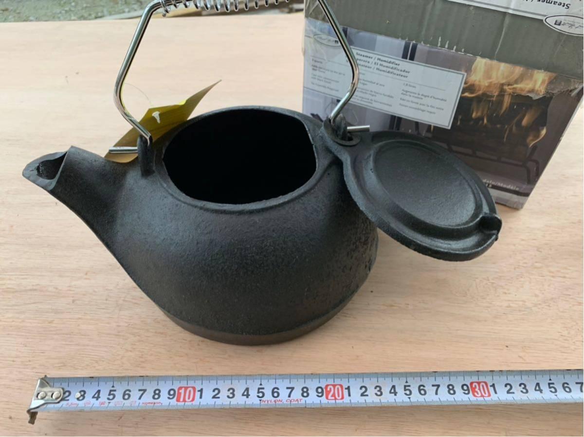 薪ストーブに似合う鋳物加湿器_画像2