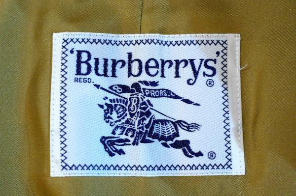 ○美品 バーバリー Burberry ライナー付き トレンチコート 9AB2 ベージュ J0006_画像7