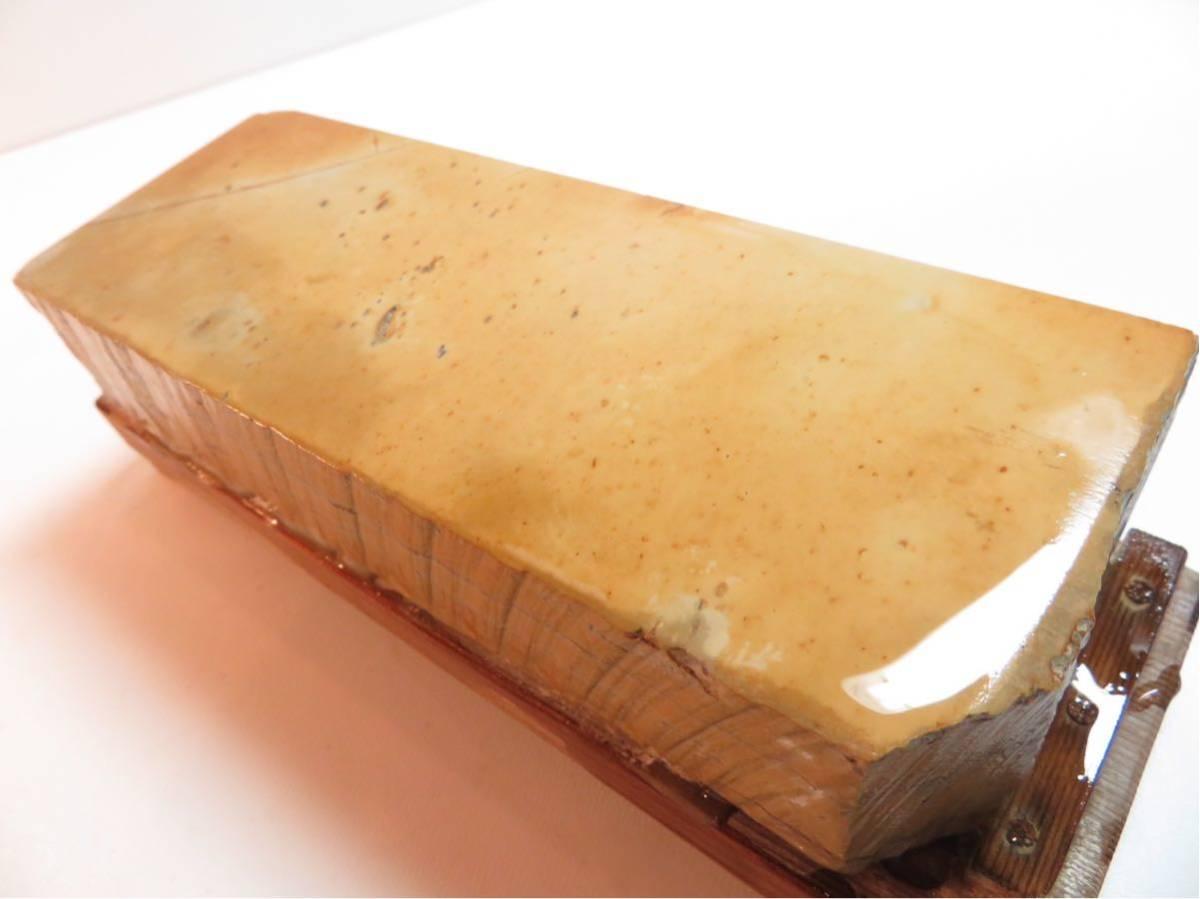 極上品 特大 マルカ 巣板 印有 天然砥石 #44_画像2
