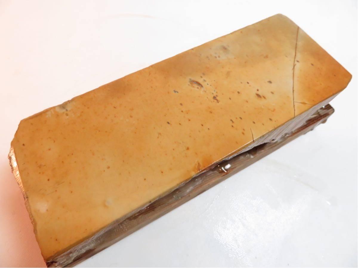 極上品 特大 マルカ 巣板 印有 天然砥石 #44_画像10