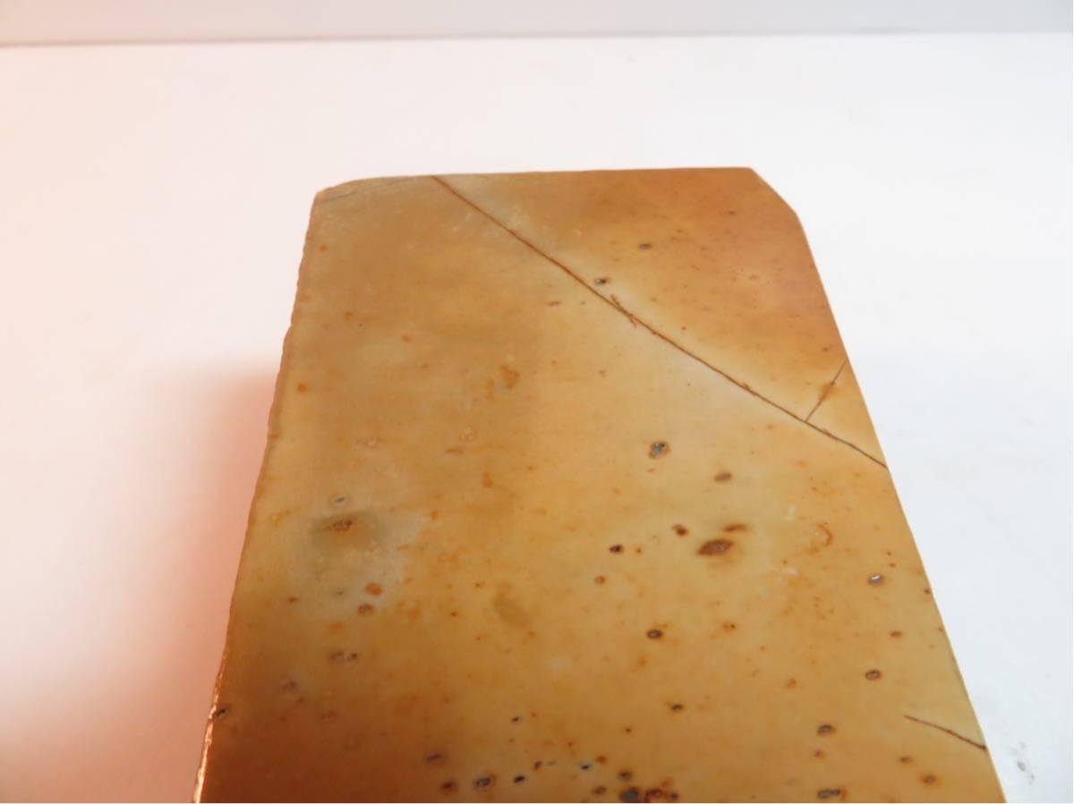 極上品 特大 マルカ 巣板 印有 天然砥石 #44_画像8