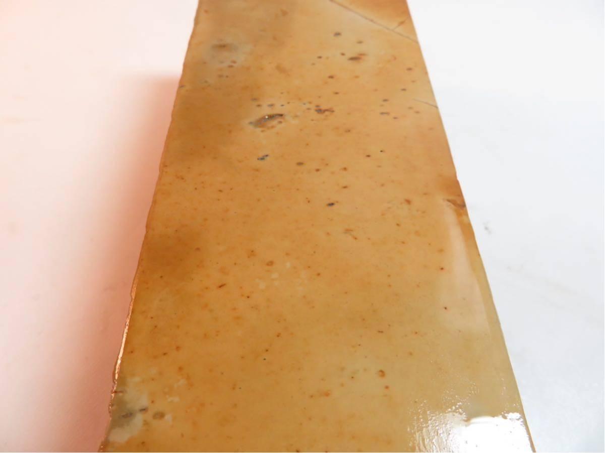 極上品 特大 マルカ 巣板 印有 天然砥石 #44_画像9