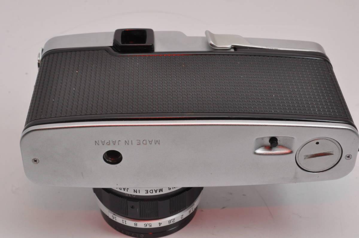 オリンパス OLYMPUS PEN FT + F.Zuiko Auto-S 38mm F1.8 とても綺麗&シャッター点検修理済_画像4