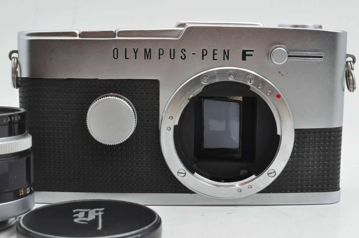 オリンパス OLYMPUS PEN FT + F.Zuiko Auto-S 38mm F1.8 とても綺麗&シャッター点検修理済_画像6