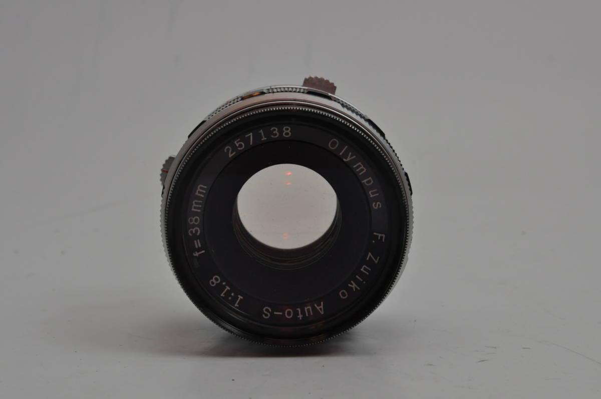 オリンパス OLYMPUS PEN FT + F.Zuiko Auto-S 38mm F1.8 とても綺麗&シャッター点検修理済_画像7