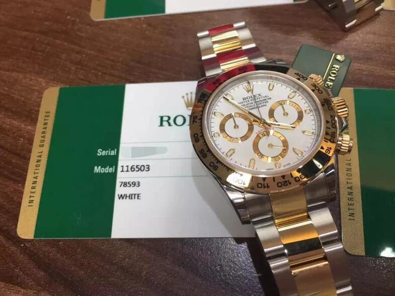 美容產品ROLEX Cosmograph Daytona ROLEX 116503腕錶 編號:h357009306