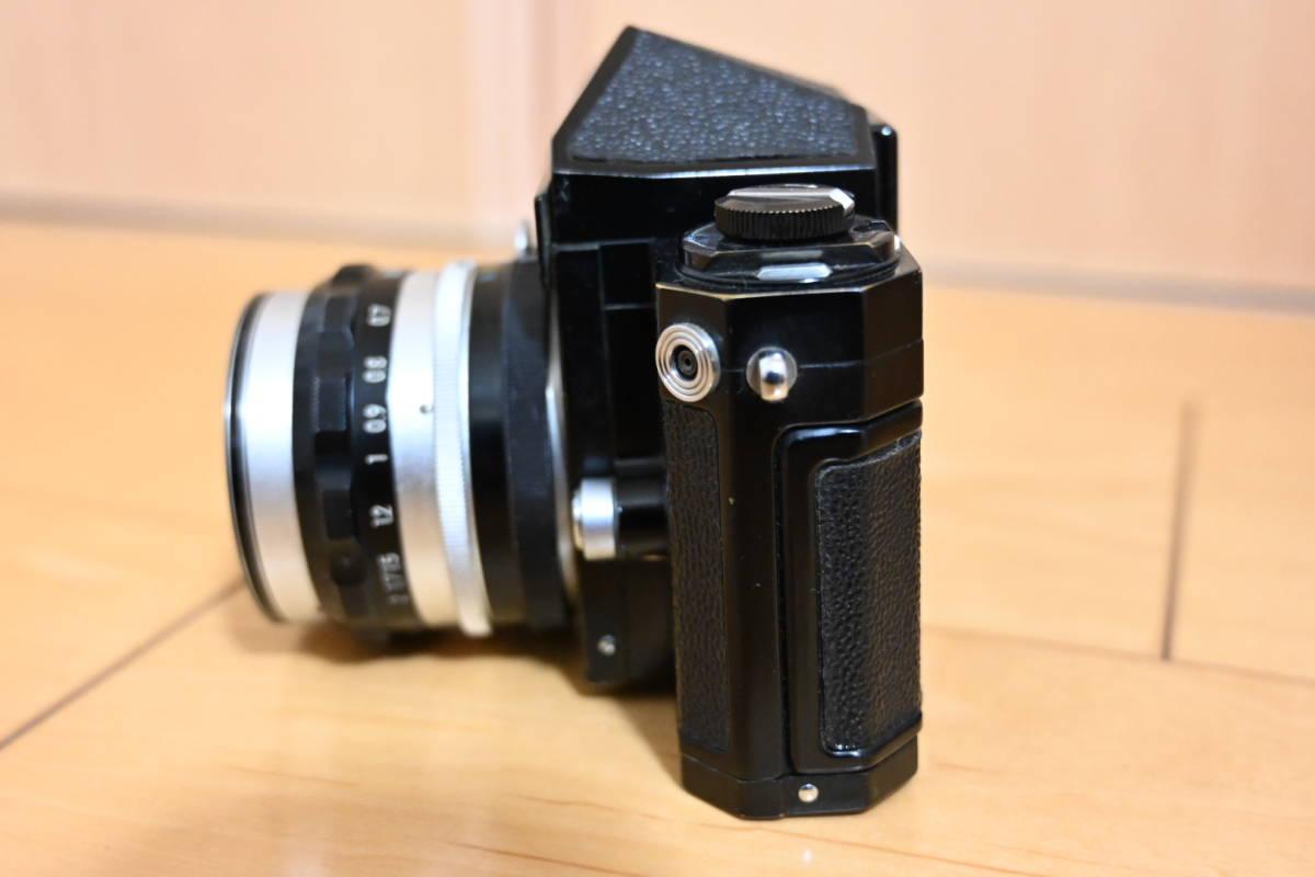 Nikon F ブラック アイレベル_画像9