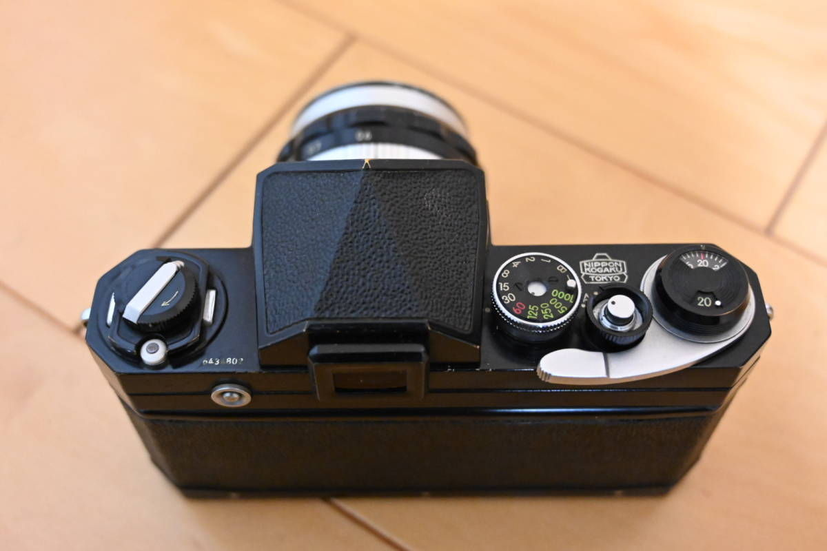 Nikon F ブラック アイレベル_画像3
