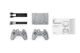 新品未使用 PlayStation Classic 本体 プレイステーション クラシック SCPH-1000RJ ソフト20作品内蔵_画像3