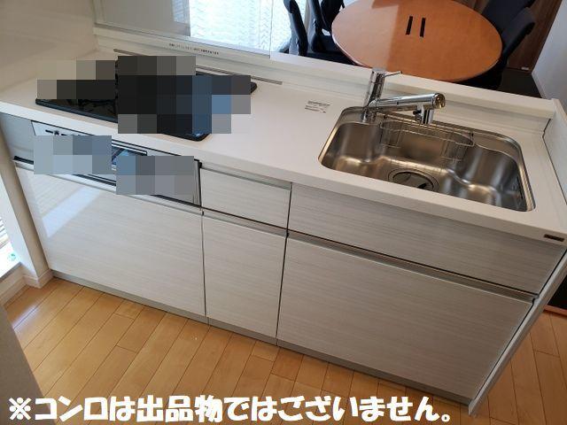 ◆展示品/Panasonic/コンパクトキッチン/W1800mm/レンジフード/シャワー水栓/パナソニッ