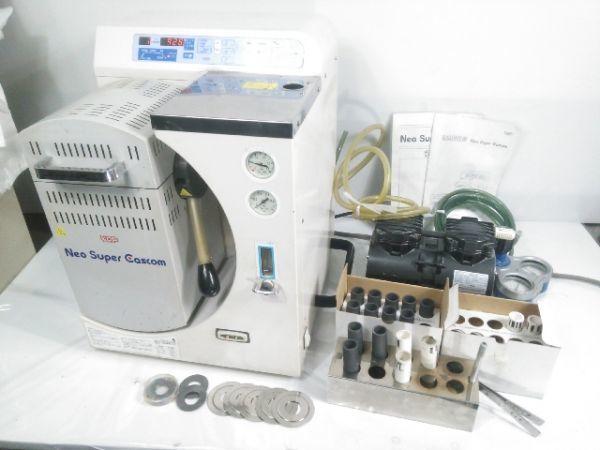 歯科技工 デンケン 技工用加熱炉鋳造器 ネオスーパーキャスコム 真空ポンプ DDP-40 説明