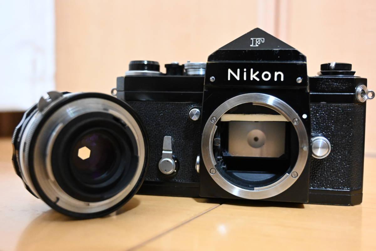 Nikon F ブラック アイレベル_画像10
