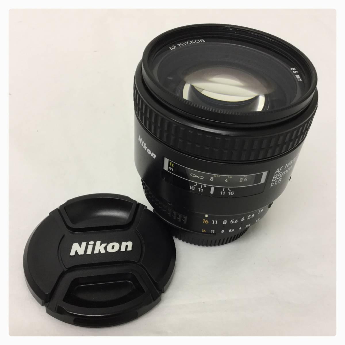 ③ * Nikon ニコン AF NIKKOR 85mm 1:1.8 レンズ O