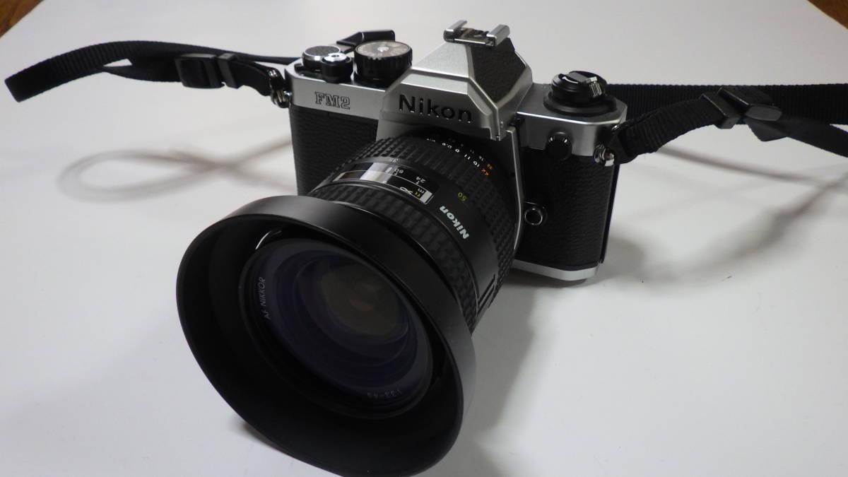 Nikon New FM2 AF NIKKOR 24-50mm 1:3.3-4.5 美品 FM2は元箱・取説付き おまけにフラッシュSB-22S付_画像2