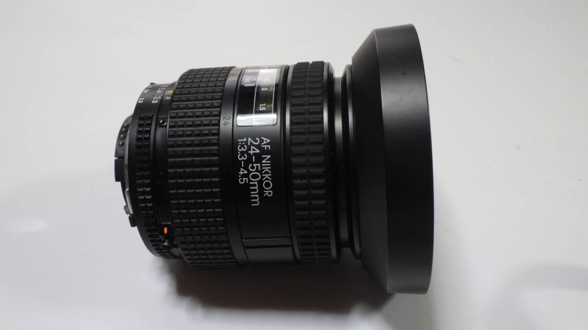 Nikon New FM2 AF NIKKOR 24-50mm 1:3.3-4.5 美品 FM2は元箱・取説付き おまけにフラッシュSB-22S付_画像7