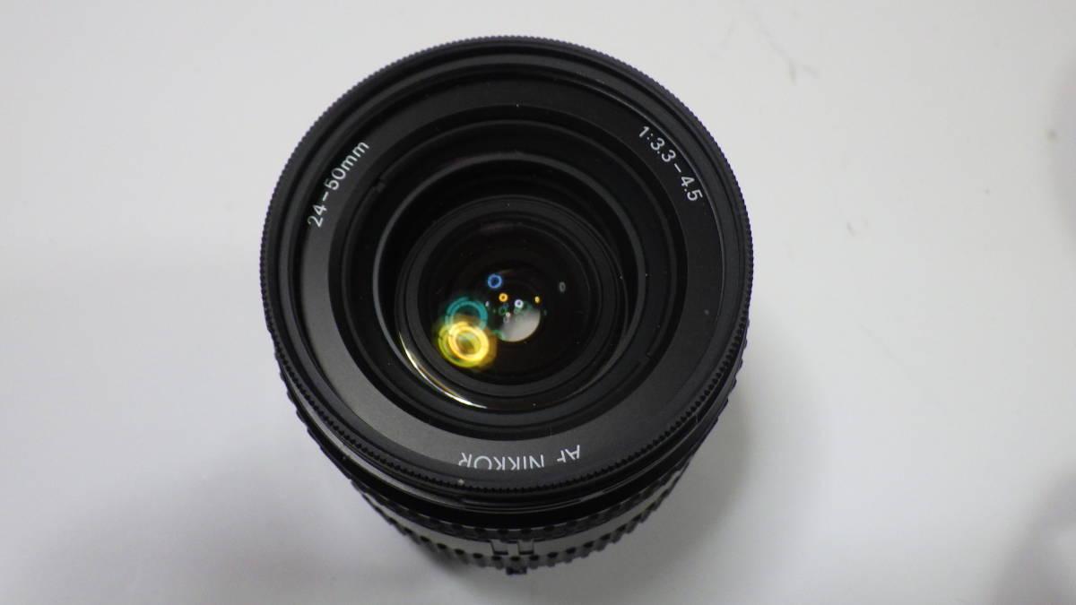 Nikon New FM2 AF NIKKOR 24-50mm 1:3.3-4.5 美品 FM2は元箱・取説付き おまけにフラッシュSB-22S付_画像8
