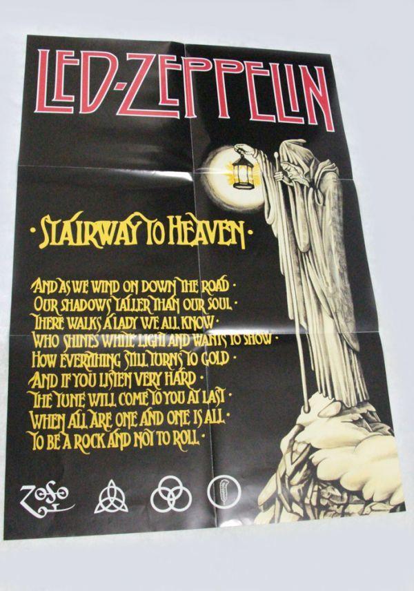 【レア・テストプレス・見本盤】 Led Zeppelin Ⅳ/レッド・ツェッペリン 4 白レーベル 見本盤_画像10