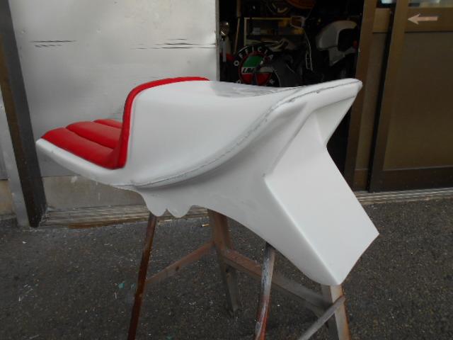 KH250 KH400 FRP シングルシート カフェレーサー_画像6