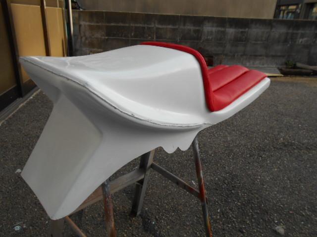 KH250 KH400 FRP シングルシート カフェレーサー_画像7