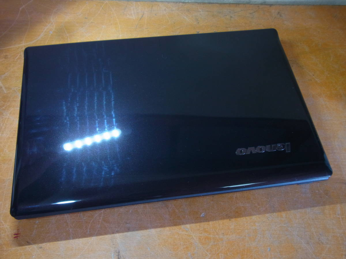 ⑧▲Lenovo G570 Core i3-2310M 2.10GHz/2GB/DVDマルチ BIOS起動OK _画像7