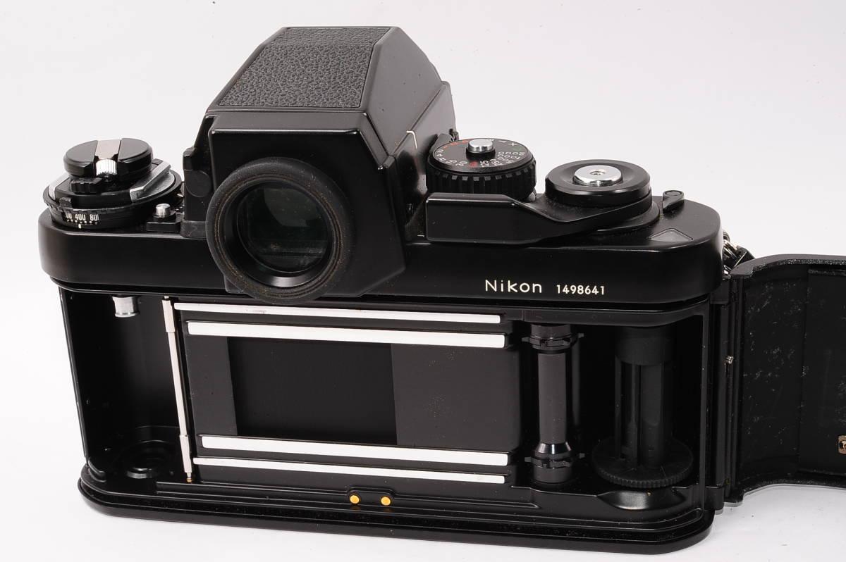 【美品】 ニコン エフスリー エイチピー Nikon F3 HP ボディ + MF-14 - ブラック マニュアルフォーカス / MF 一眼レフ [1498641] _画像4