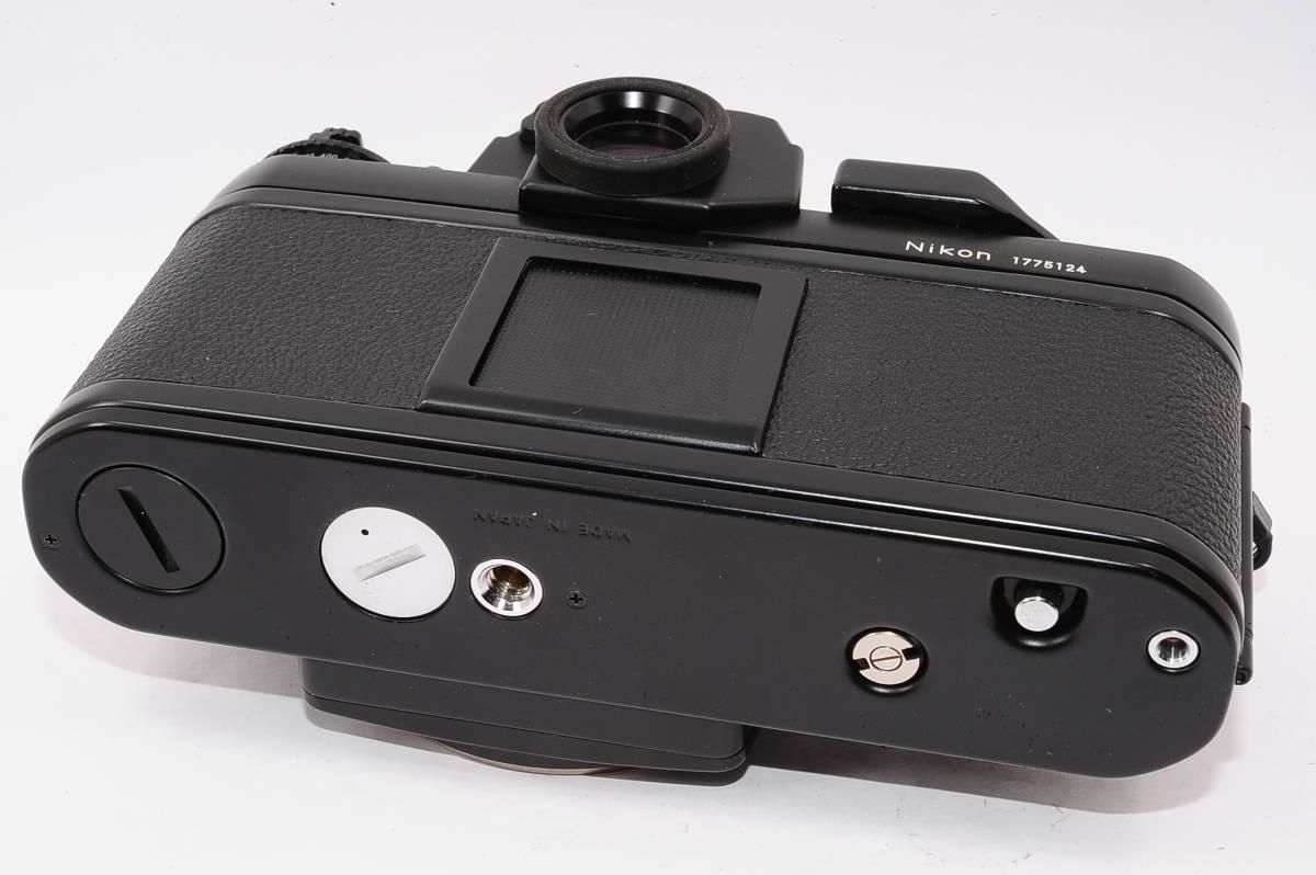 【美品】 ニコン エフスリー Nikon F3 ボディ - ブラック マニュアルフォーカス / MF 一眼レフ + 箱、取説付き [1775124] _画像4