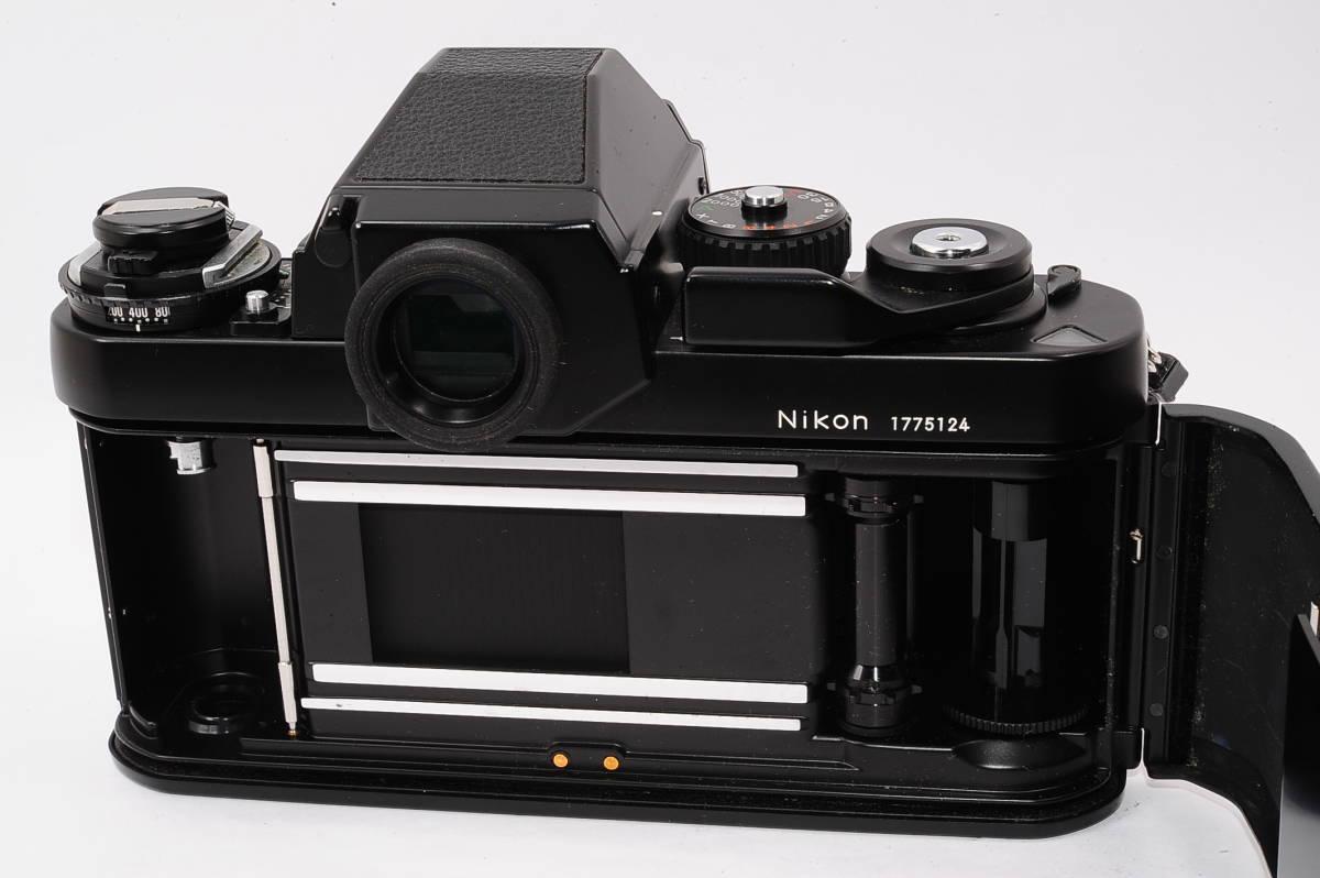 【美品】 ニコン エフスリー Nikon F3 ボディ - ブラック マニュアルフォーカス / MF 一眼レフ + 箱、取説付き [1775124] _画像5