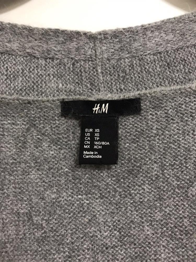f35cbf53d425 代購代標第一品牌- 樂淘letao - 美品H&M アンゴラカーディガンドロップ ...
