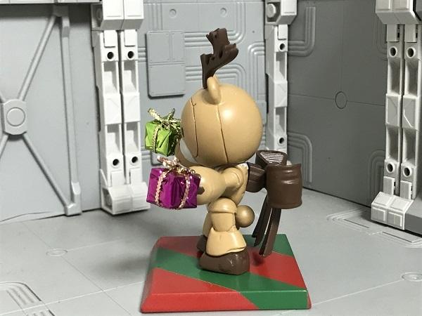 ガンダムコンバージ ベアッガイⅢ トナカイ クリスマス Ver.2  改造リペイント塗装_画像7