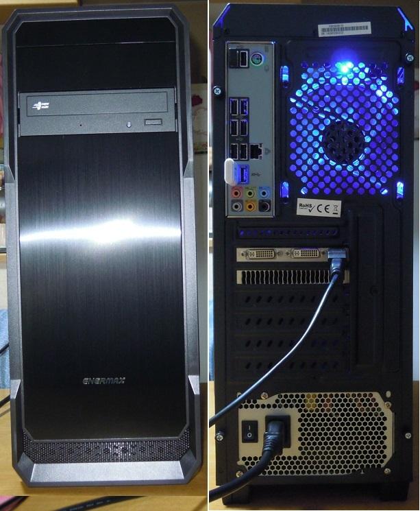 自作 i7 2600 3.4GHz/ mem8GB/ 新品SSD120GB+ケース/ HDD320GB/ GTX560_画像3
