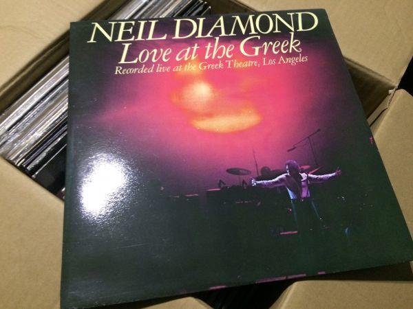 名盤レコード Love at the Greek ニール・ダイアモンド 2枚組