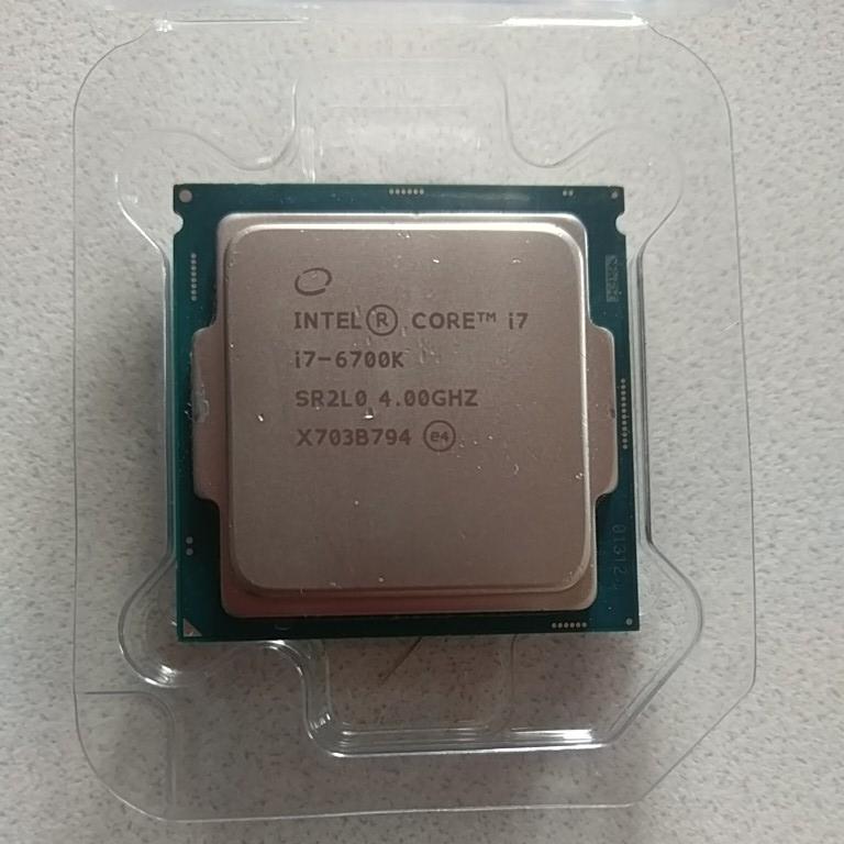 CPU インテル Core i7-6700K ジャンク