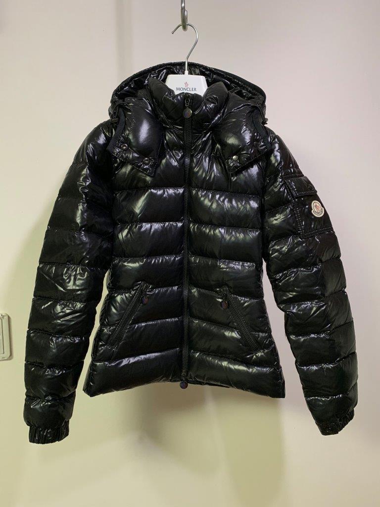 ショート ダウン ジャケット の傑作 国内正規極美品 モンクレール BADY バディ ロング コート サイズ00 黒 HERMINE FLAMMETTE MOKA_画像3