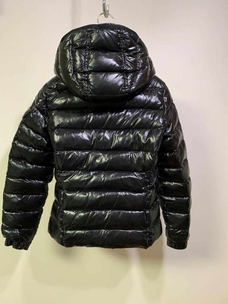 ショート ダウン ジャケット の傑作 国内正規極美品 モンクレール BADY バディ ロング コート サイズ00 黒 HERMINE FLAMMETTE MOKA_画像6