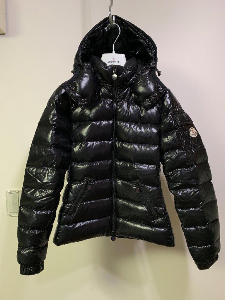 ショート ダウン ジャケット の傑作 国内正規極美品 モンクレール BADY バディ ロング コート サイズ00 黒 HERMINE FLAMMETTE MOKA_画像5
