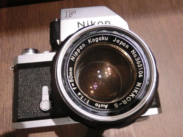 初代Nikon ニコン F フィルム一眼レフカメラ ブラック&シルバーボディ 2台おまとめ!_画像5