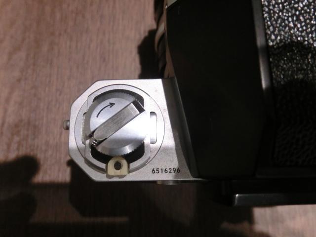 初代Nikon ニコン F フィルム一眼レフカメラ ブラック&シルバーボディ 2台おまとめ!_画像7