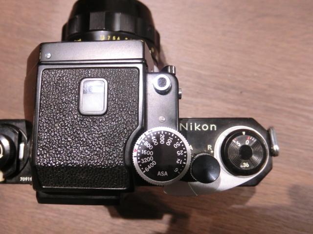 初代Nikon ニコン F フィルム一眼レフカメラ ブラック&シルバーボディ 2台おまとめ!_画像9