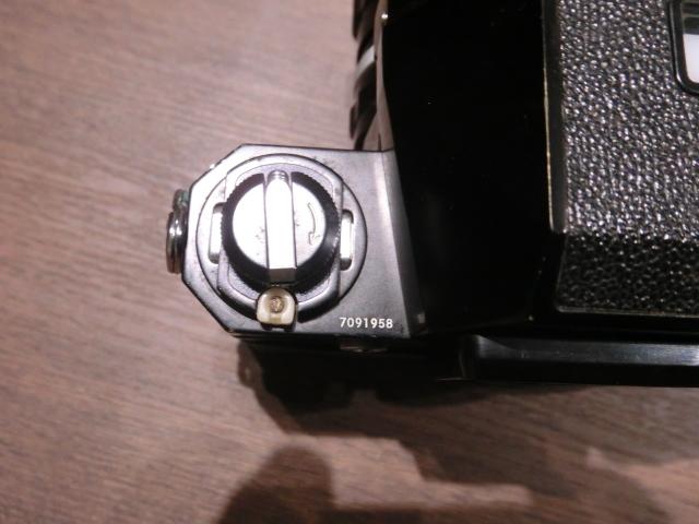 初代Nikon ニコン F フィルム一眼レフカメラ ブラック&シルバーボディ 2台おまとめ!_画像10